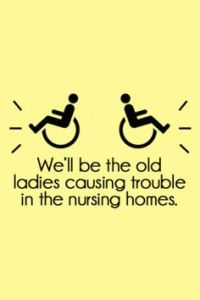 BFF in nursing home