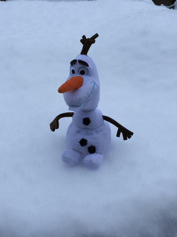 snow - olaf